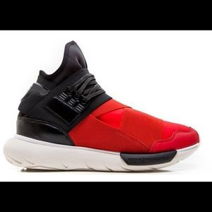Adidas Y-3 Qasa High Royal Red & Black